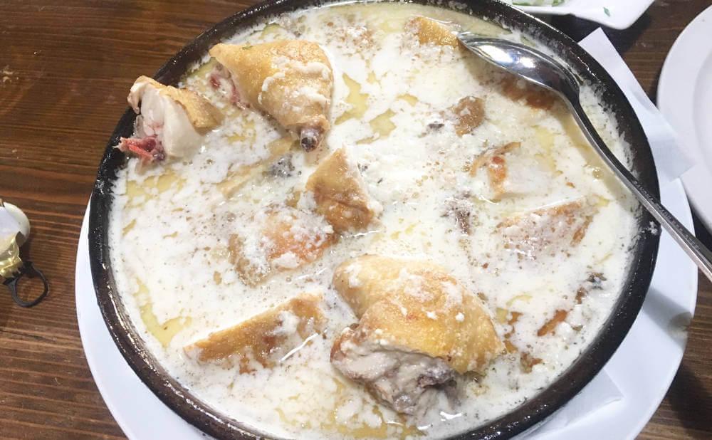 ジョージア料理のシュクメルリ